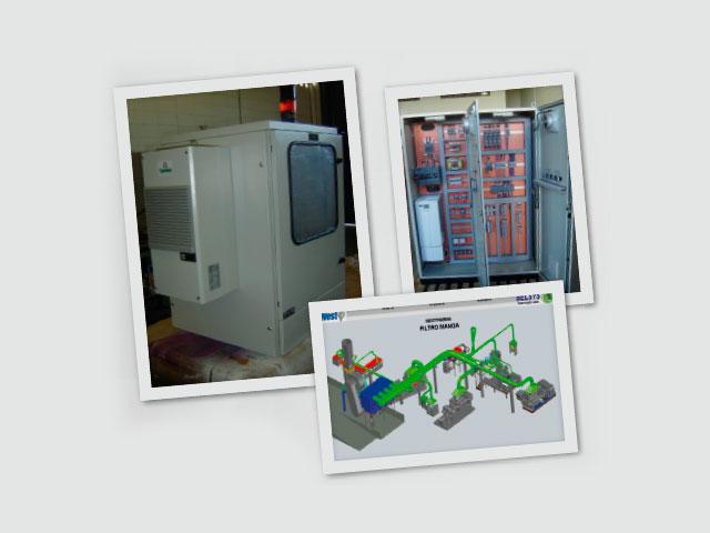 Sistema de Ventilação / Exaustão Minas Filter – Westpharma