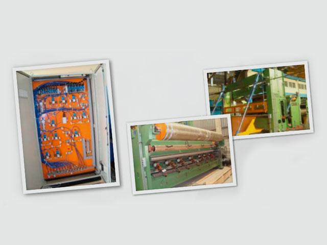 Engenharia detalhada nas áreas de elétrica, instrumentação e automação. Fornecimento dos painéis (PLC, comando e pneumático). Serviços de supervisão de montagem, comissionamento e start-up no Equador