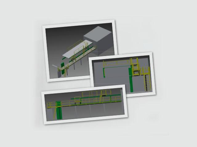 Plataformas para Máquinas de Embalagem International Paper – Paulínia
