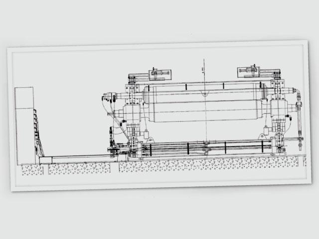 Calandra Hidráulica para Máquina de Papel Valmet - Brasil