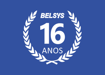 Selo 16 Anos - Belsys Engenharia Industrial