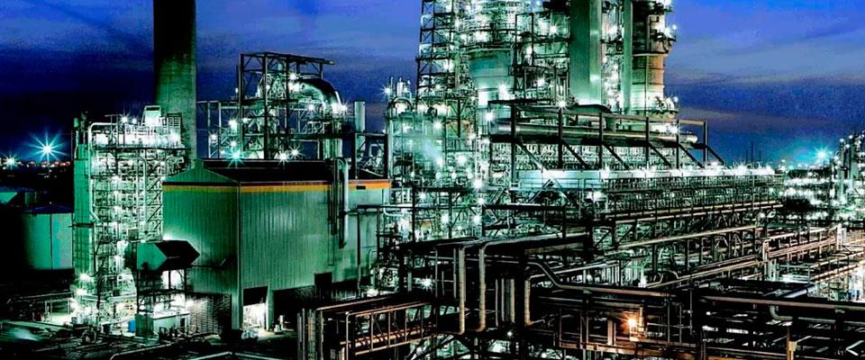 indústria de engenharia química