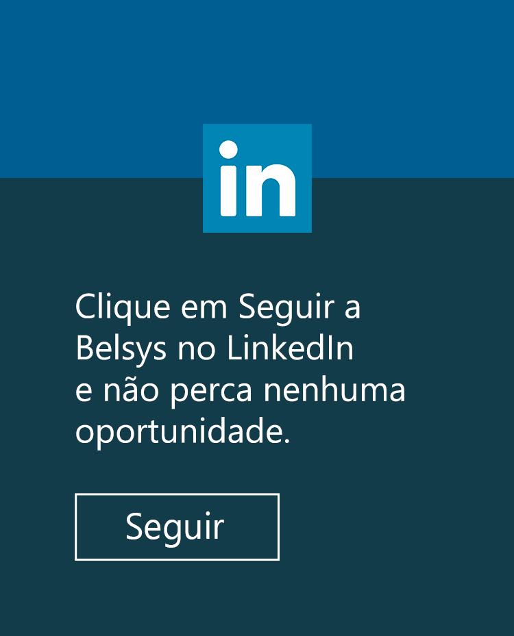 LinkedIn da empresa Belsys Engenharia